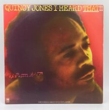 QUINCY JONES 2 LP SET I HEARD THAT  LP Record A&M Smooth Soul Jazz Funk