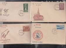 India First Day Covers 150 Different with Stamps