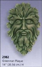 """Green man Plaque 14"""" Ceramic Bisque, ready to paint"""