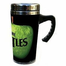 The Beatles Drop T Apple Records Stainless Steel Travel Coffee Mug 100% Official