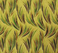 """1 yd 21"""" Kew Garden by Laura Ashley for Quilting Treasures Grasses on Yellow"""