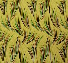 Kew Garden by Laura Ashley for Quilting Treasures BTY Grasses on Yellow