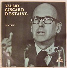 Valéry Giscard D'Estaing 33 tours Discours SERP