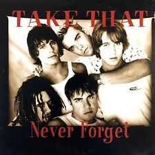 Take That ‎CD Single Never Forget - Europe (VG+/EX)