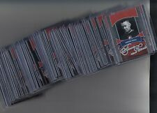 2012-13 ITG Forever Rivals Silver Complete Canadians Set 50 Cards With Inserts
