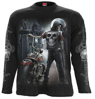 Spiral Direct NIGHT CHURCH Long sleeve T-Shirt Biker/Gargoyle/Metal/Rock/Goth