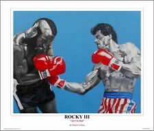 "Rocky III ~ ""Ain't So Bad"" ~ 24"" x 20""   Art Print By Patrick J Killian"