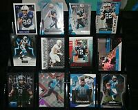 Panthers RC rookie insert #d lot Christian McCaffrey D.J. Moore Curtis Samuel