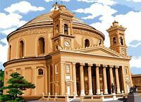SEG de Paris Tapicería / Bordados Lienzo – Rotunda (Iglesia) De Mosta