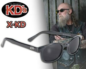 Original X-KD's Motorrad Biker Chopper Sonnenbrille dunkel getönte Gläser NEU