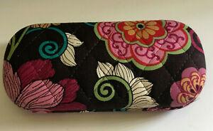 Vera Bradley Glasses Case Womens Mod Floral Pink Pattern