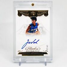 2017-18 Jonathan Isaac Flawless Rookie Autographs Gold 4/10 RC Auto Non RPA Rare