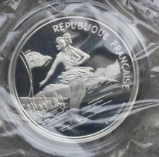 France-Frankreich: 100 Francs 1989, Silber PP-Proof, F# 1606, KM# 972