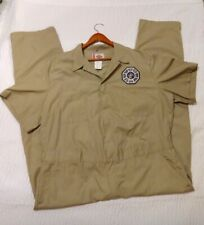 Lost TV Show DHARMA INITIATIVE Costume Uniform Coverall Jump Suit USED Sz 50/52