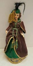 Barbie Gone With the Wind Scarlett OHara Green Curtain Dress Porcelain Doll