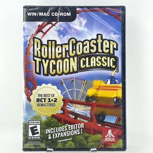 Roller Coaster Tycoon Classic: PC/Mac [Brand New]