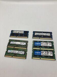 SK hynix,Kingston,Crucial,Samsung 4GB Laptop ram Lot Of 6