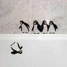 DIY Removable Penguin Mural Fridge Baby Nursery Wall Sticker Home Decals