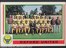 Panini Football 1985 Sticker - No 418 - Oxford United Team Group