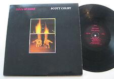 LP Scott Colby - Slide Of Hand - mint- Willie Lapin Mark Crawford Henry Kaiser