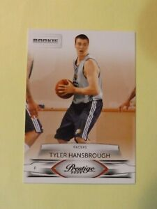 TYLER HANSBROUGH 2009-10 ROOKIE PRESTIGE #163 SP INDIANA PACERS