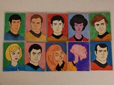 Set 10 Original Star Trek Art Sketch Cards ACEO By Shane McCormack - Spock, Kirk