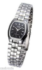 Casio LTP1169D-1A Ladies Stainless Steel Square Casual Dress Watch Black Dial