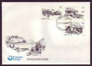 Faroe Islands • 1982 • Landscapes FDC