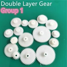 31 kinds of M0.5 Plastic Teeth Double Layer Gears Reduction Gear Group 1 Deck