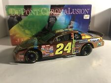 JEFF GORDON #24 DUPONT CHROMALUSION 1998 1/24 ACTION DIECAST CAR Limited Edition
