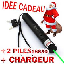 ★★ NEW*** EDITION XPRO POINTEUR LASER VERT HIGH POWER + 2 PILES + CHARGEUR ★★