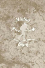 New listing Hiking Diary: Notebook for Your Experiences I Motif: Mountain Hiking Brown I