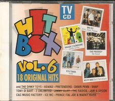 CD COMPIL 18 TITRES--HIT BOX VOL 6--CLIFF/SNAP/ICE MC/2 UNLIMITED/PRETENDERS