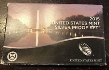 2015 S SILVER PROOF SET with Box and COA