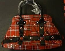 Folter Red Tartan Purse - Goth, EMO