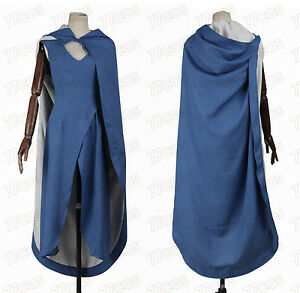 Game of Thrones Daenerys Targaryen Blue Dress Cosplay Costume