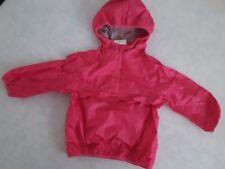 NEXT Girls Pink Raincoat Waterproof Coat Jacket Cagoule 4 Years / EUR 104