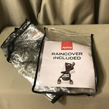 Aprica Stroller Clear Rain Cover New Model pd145616a Storage Bag