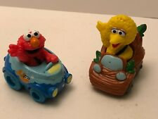 Hasbro ELMO & Big Bird Sesame Street Workshop Racer Toy Car Figure 2012