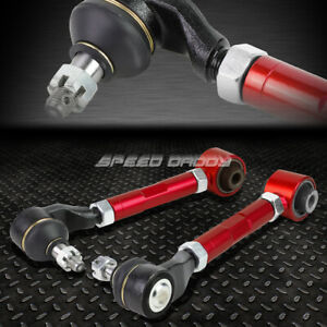 FOR 03-07 ACCORD/TSX UC1 RED ADJUSTABLE BALL JOINT REAR SUSPENSION CAMBER KIT
