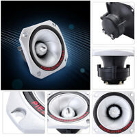 4 x Pcs Tweeter 30KHZ Piezoelectric horn Speaker Driver Loudspeaker Treble DJ PA