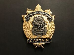 NYPD CAPTAIN MORGAN CHALLENGE COIN