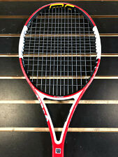 New listing Wilson nCode 6.1 95 (16x18) Used Tennis Racquet Grip Size 4_3/8
