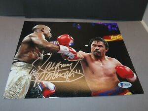 Manny Pacquiao Signed Boxing 8x10 Photo Autographed Beckett BAS COA 1A