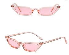 Mohawk Damas Cateye Extreme Gafas de sol rosa claro con Lente Rosa UV400 Y168