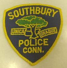 Southbury Connecticut Police Patch RARE VERISON
