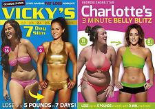 Charlotte Crosby's 3 Minute Belly Blitz Vicky Pattison's 7 Day Slim DVD R4