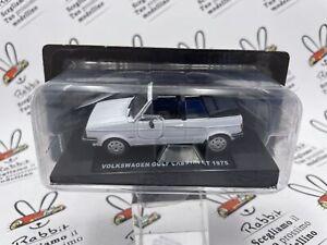 """Die Cast """" Volkswagen Golf Cabriolet 1975 """" Spider & Cabrio 1/43"""