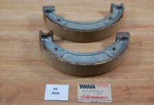 Yamaha YDS5 RD350 4L0-W2536-00 BRAKE SHOE KIT Genuine NEU NOS xs3606
