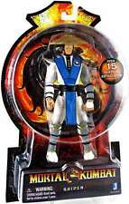 "NEW AUTHENTIC MORTAL KOMBAT RAIDEN 20TH ANNIVERSARY JAZWARES  6"" ACTION FIGURE"